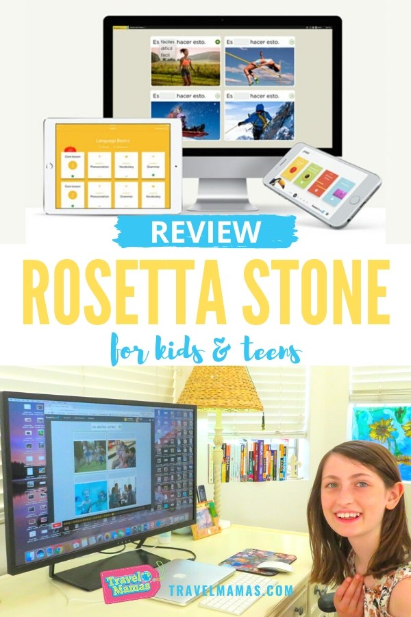 Rosetta Stone for Kids and Teens Review