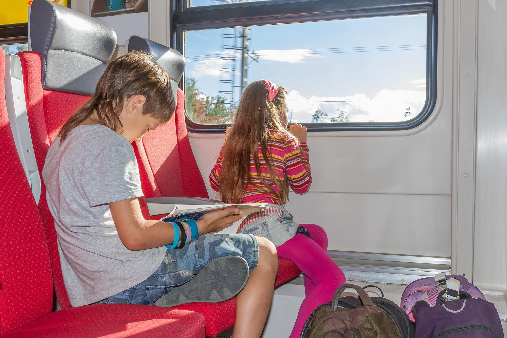Train travel makes a good choice for solo parent trips