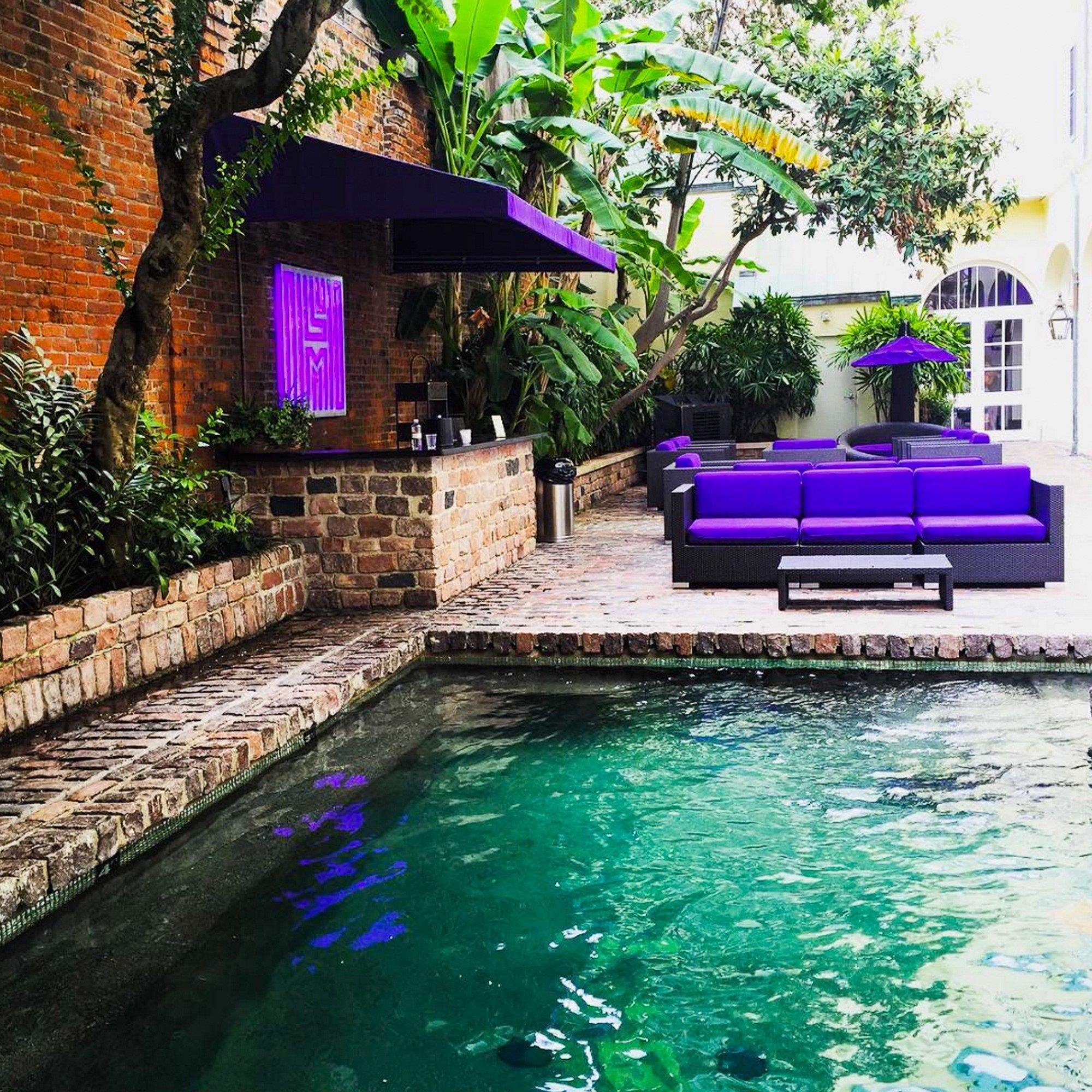 Hotel Le Marais pool