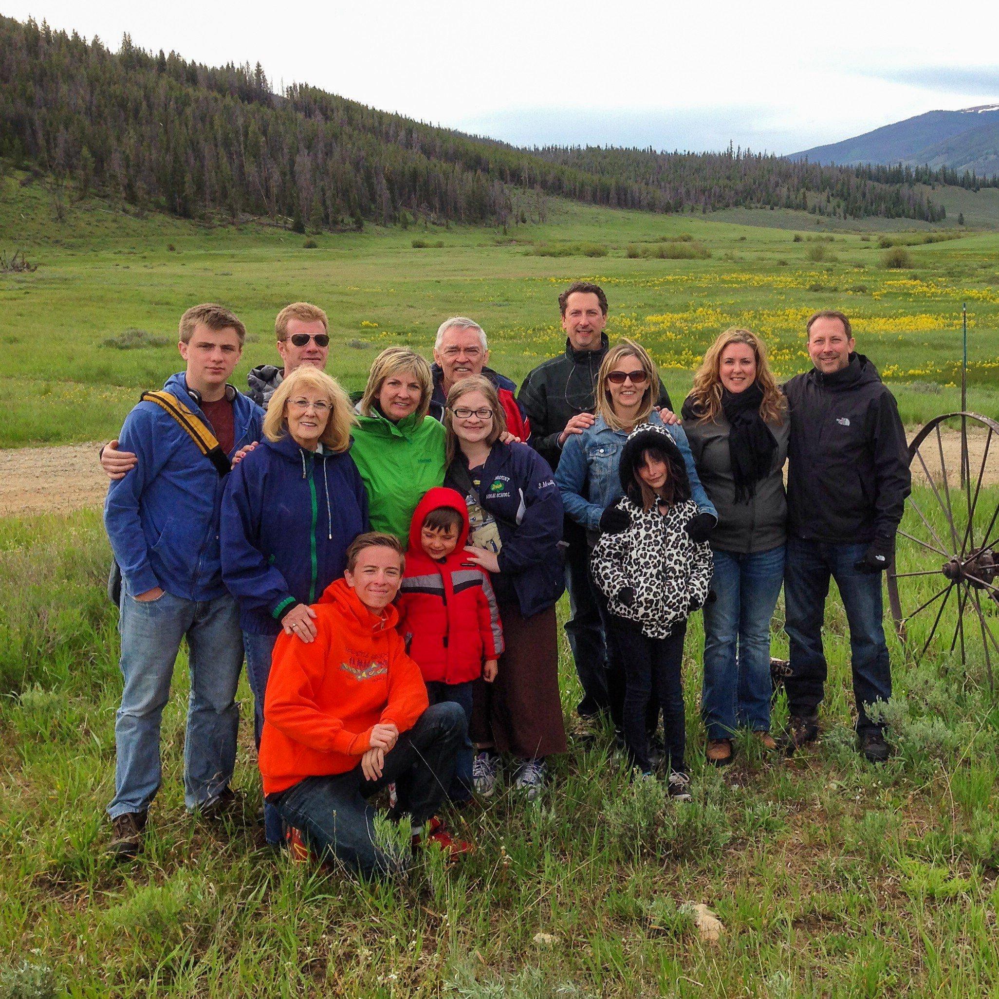 My family reunion vacation in Keystone, Colorado