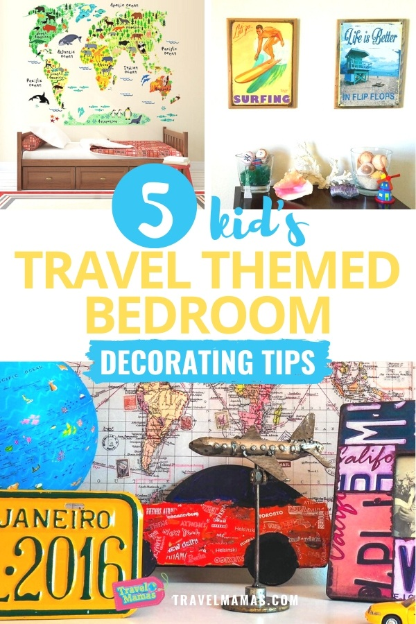 How to Decorate a Kid's Travel Themed Bedroom