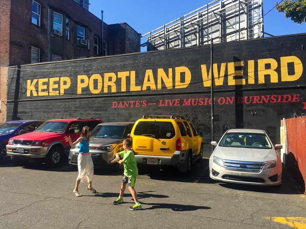 Keeping it weird in Portland with kids