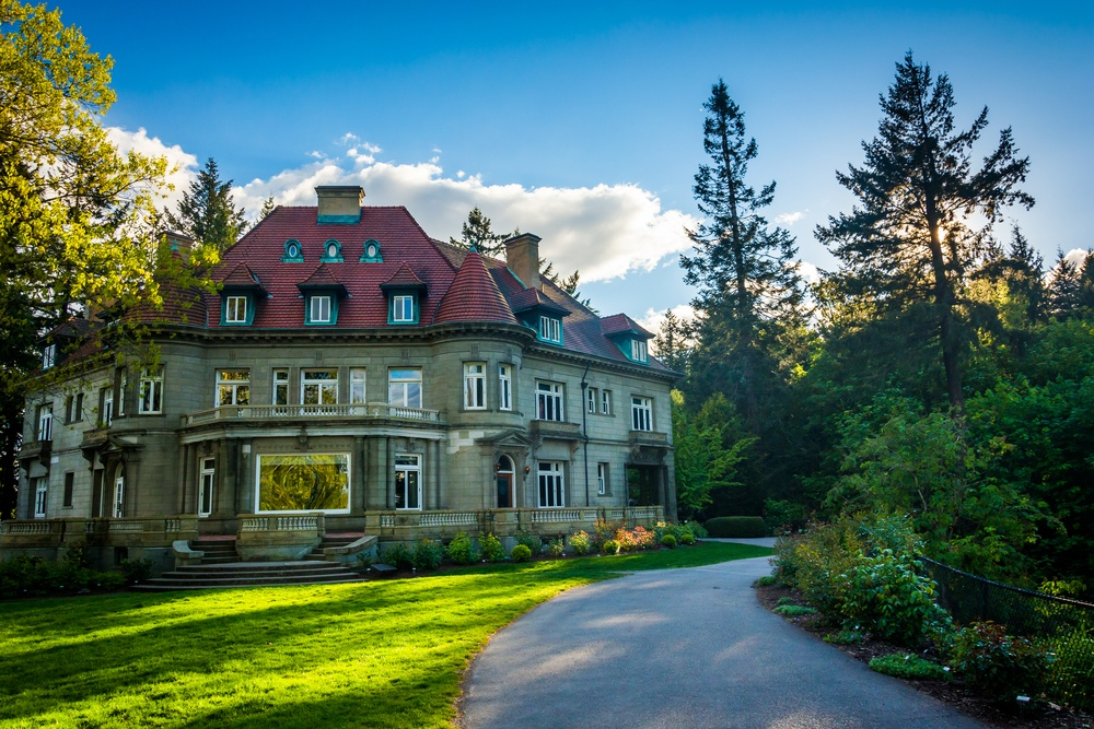 Pittock Mansion in Portland, OR
