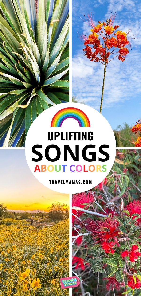 Uplifting Songs about Colors