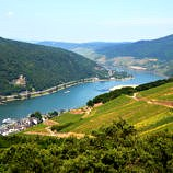 Rhine River and Rhine Valley