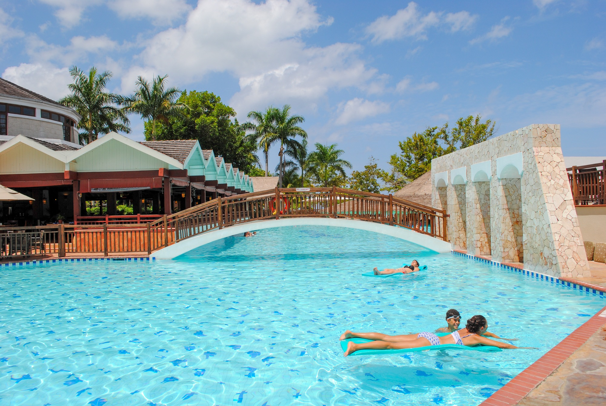 Adult pool area at Beaches Negril