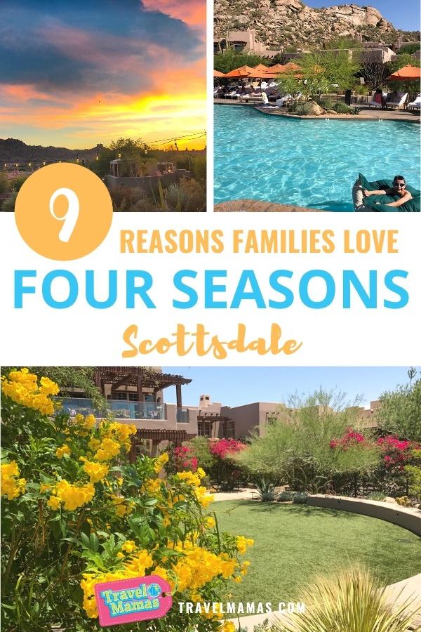 Four Season Scottsdale - A Kid Friendly Resort in Arizona