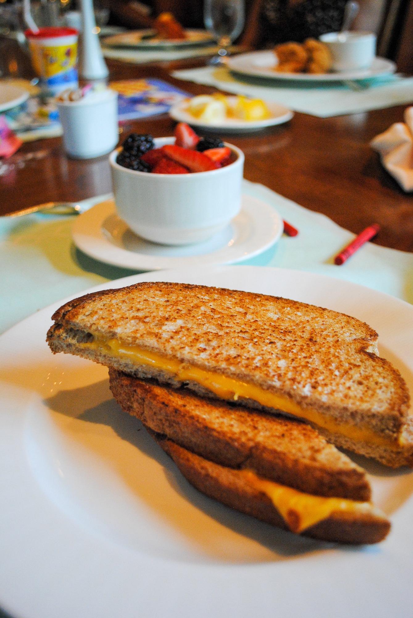 Kid cuisine at Garden Café at Grand Hotel