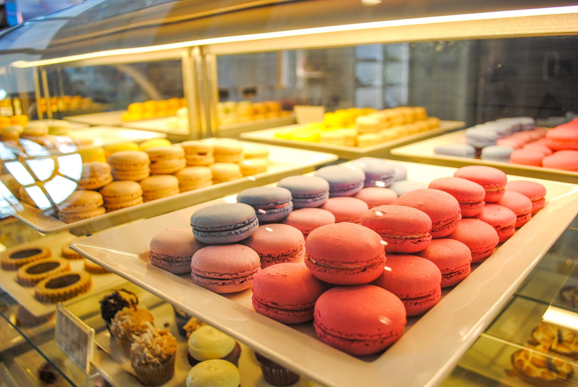Macarons at La Bonne Vie