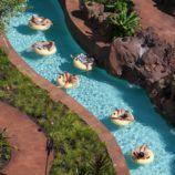 Lazy River at Disney Aulani Resort in Oahu, Hawaii