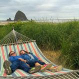 Kids in Cannon Beach, Oregon
