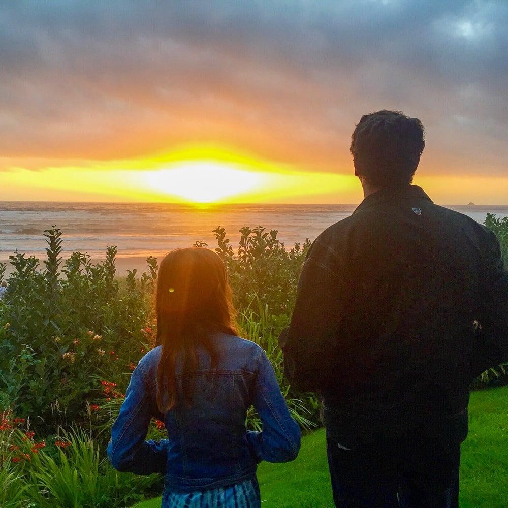 Sunset at Surfsand Resort