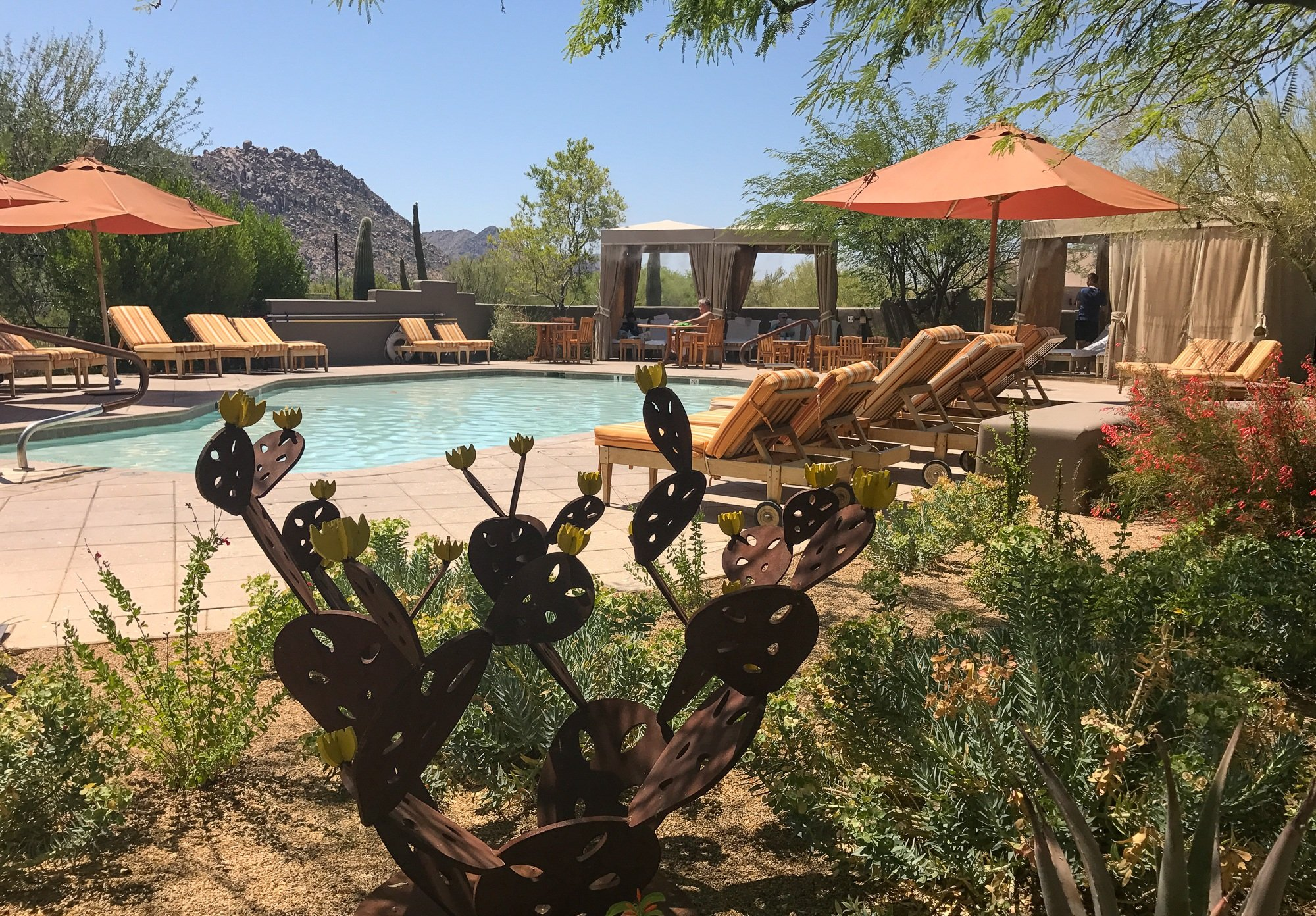 Shallow Children's Pool at Four Seasons Scottsdale Troon