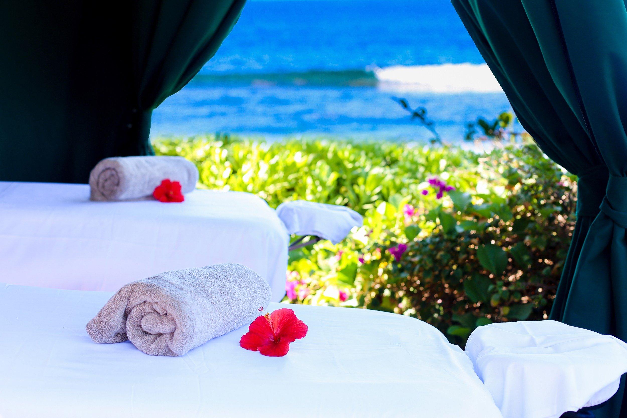 Kamaha'o, a Marilyn Monroe Spa oceanside spa treatments