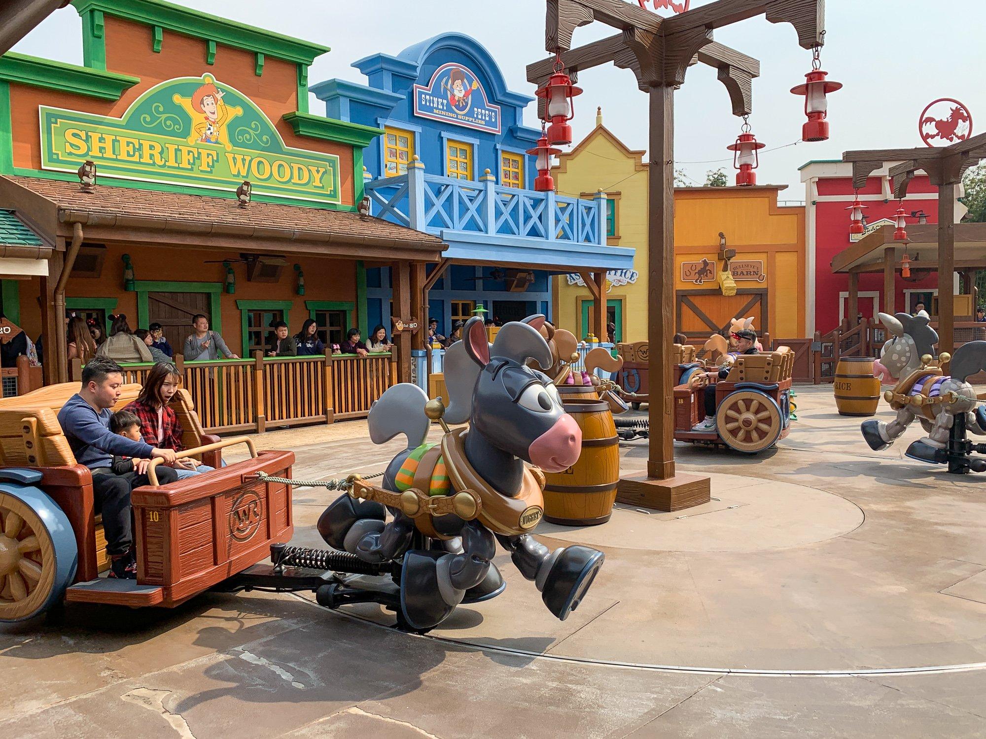 Woody's Roundup in Disney Pixar Toy Story Land