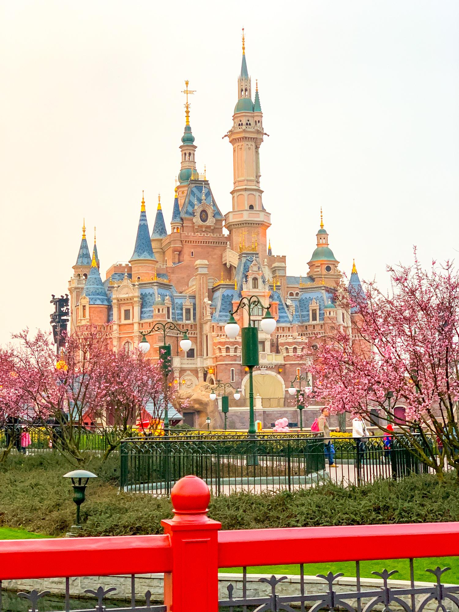 Enchanted Storybook Castle at Shanghai Disneyland