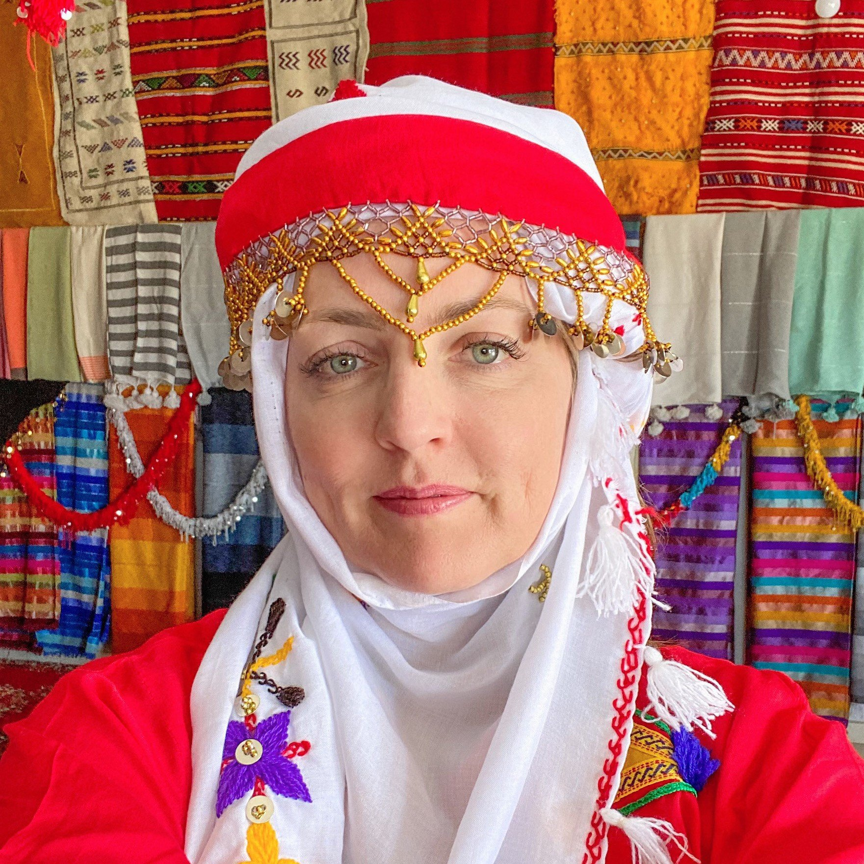 The Travel Mama Colleen Lanin in Morocco