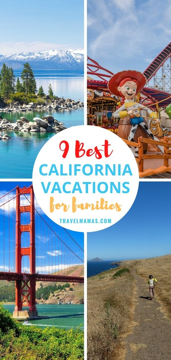 Best California Vacation Destinations for Families