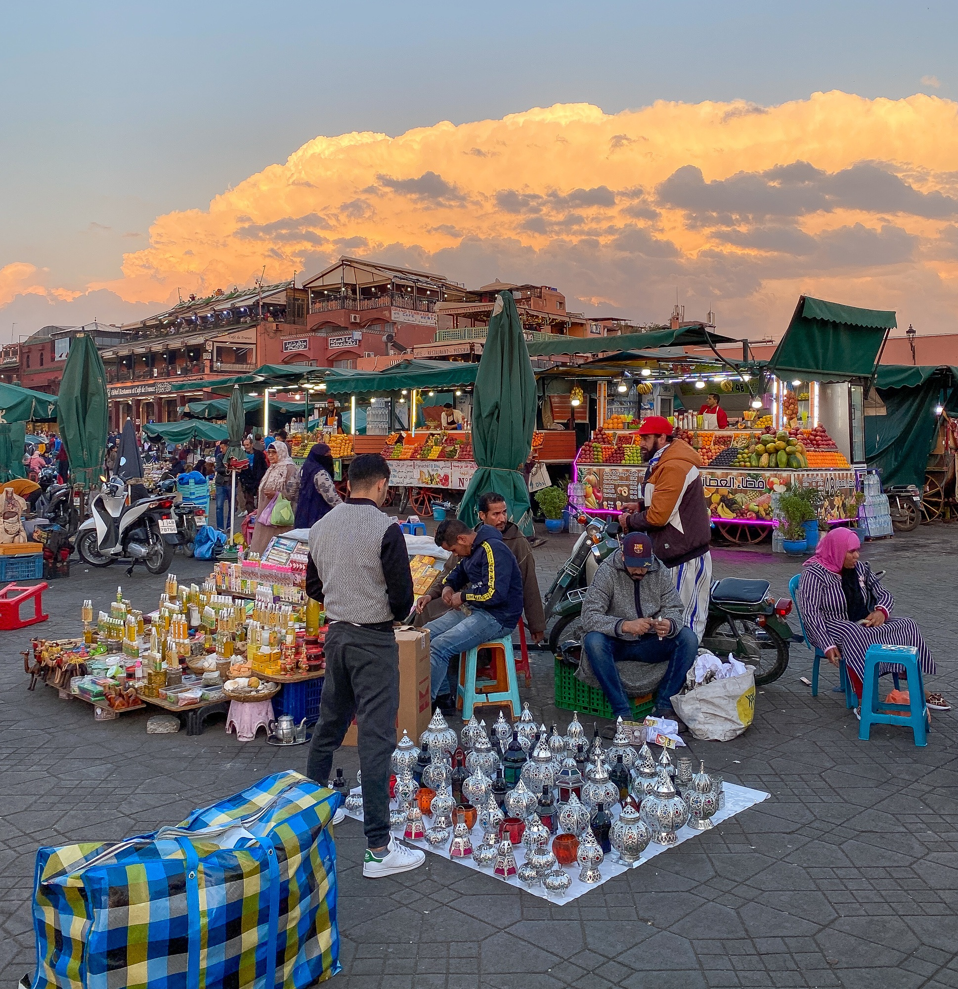 Djemaa el Fna Square in Marrakech