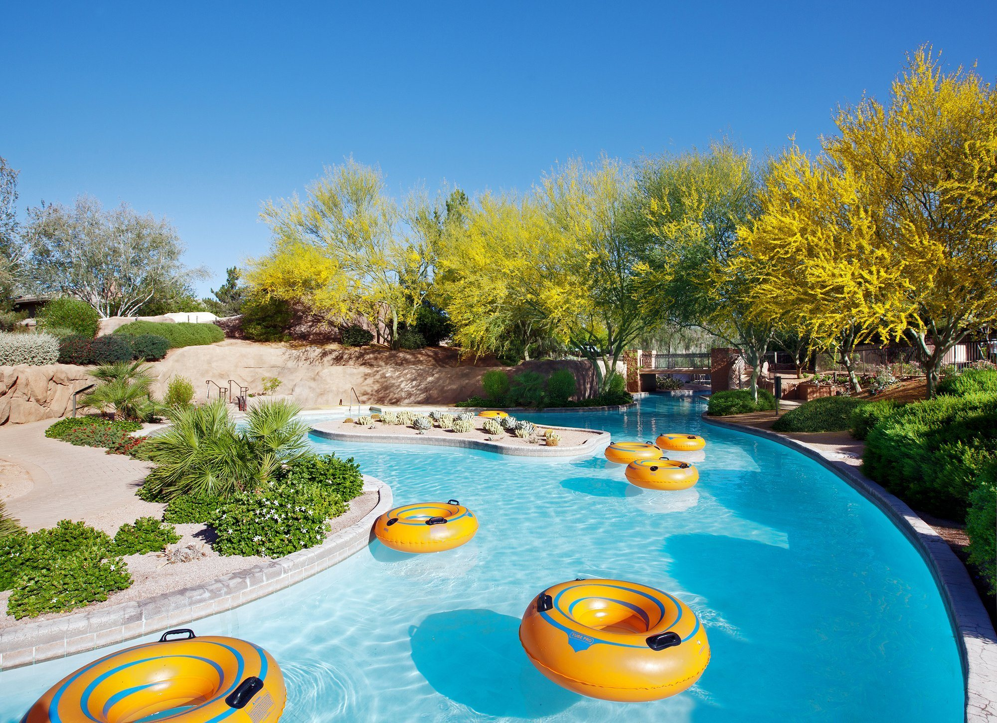 Lazy river at Westin Kierland Resort & Spa