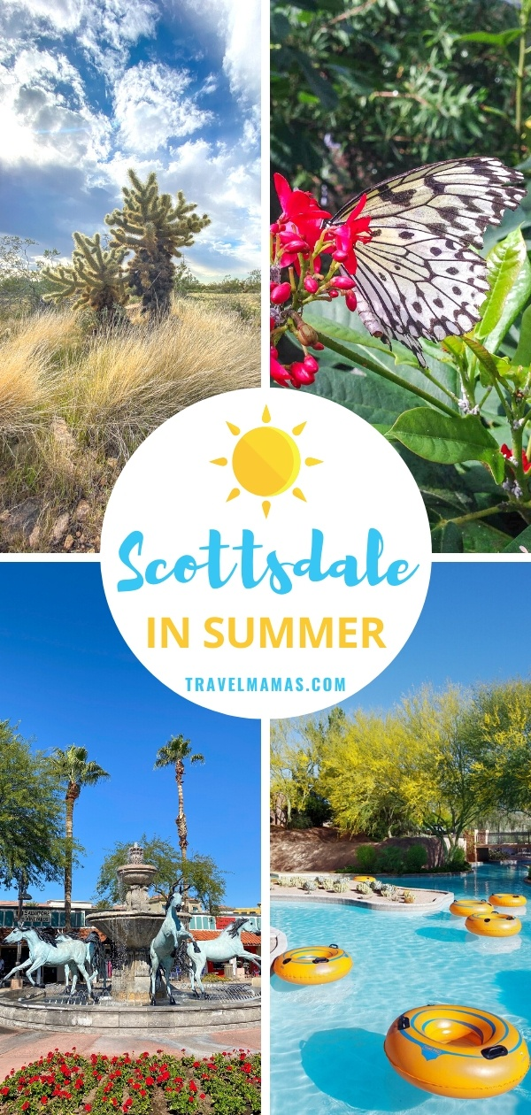 Things to Do on Scottsdale, Arizona Vacation in Summer