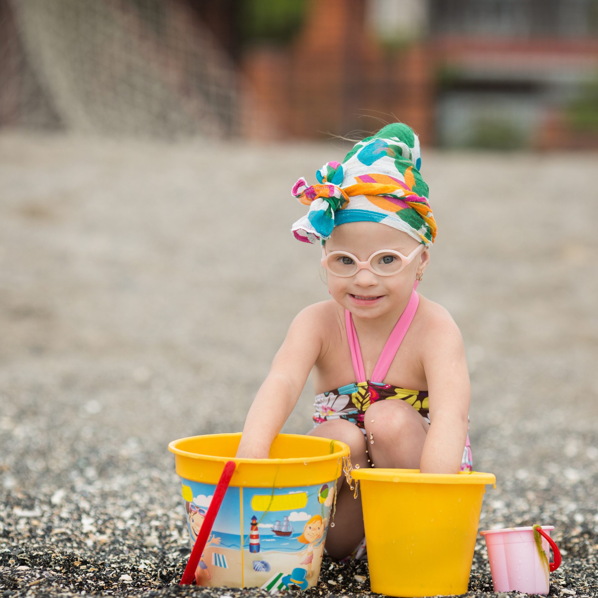 Vacation time is play time for kids who have disabilities