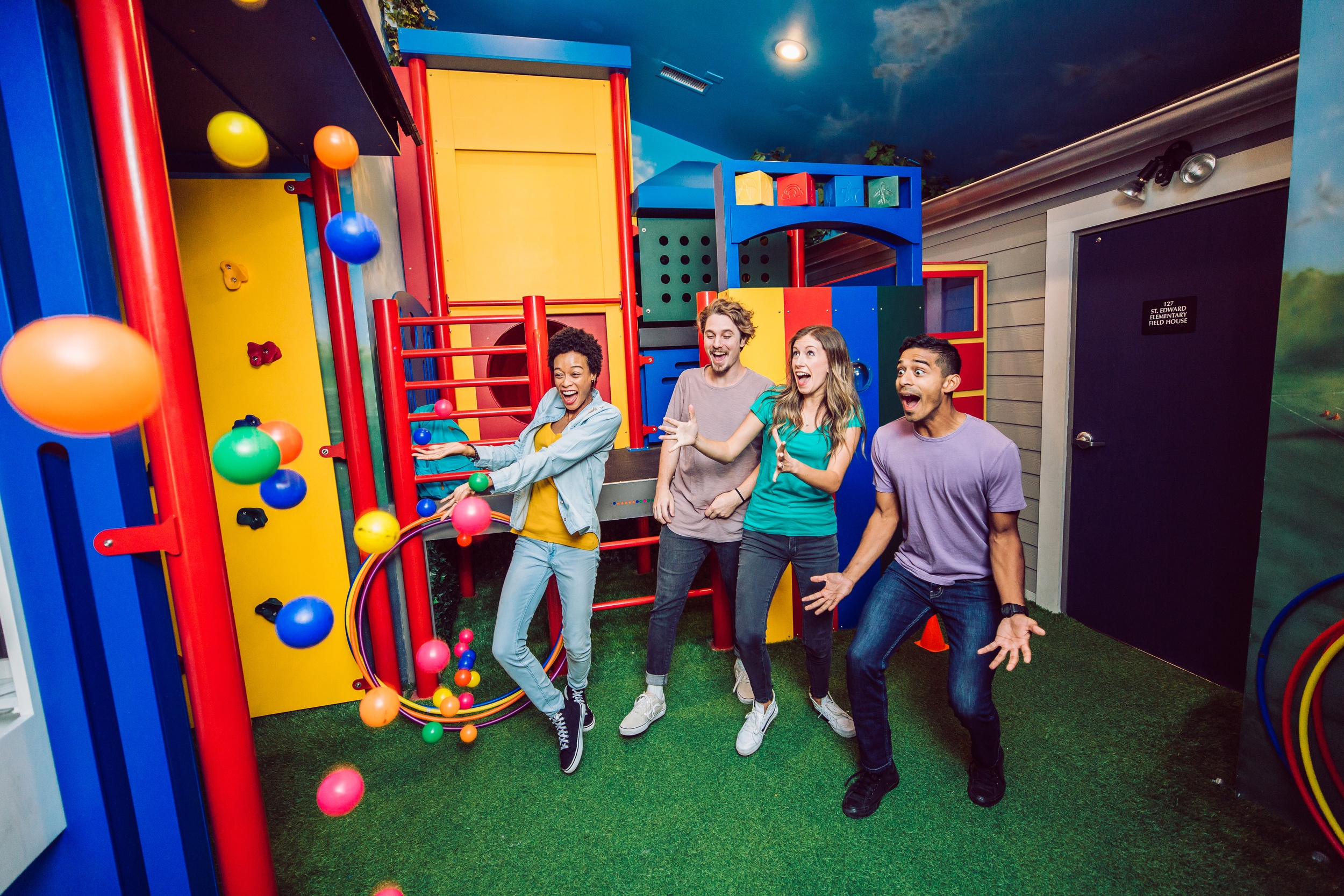 Playground-themed escape room by The Escape Game