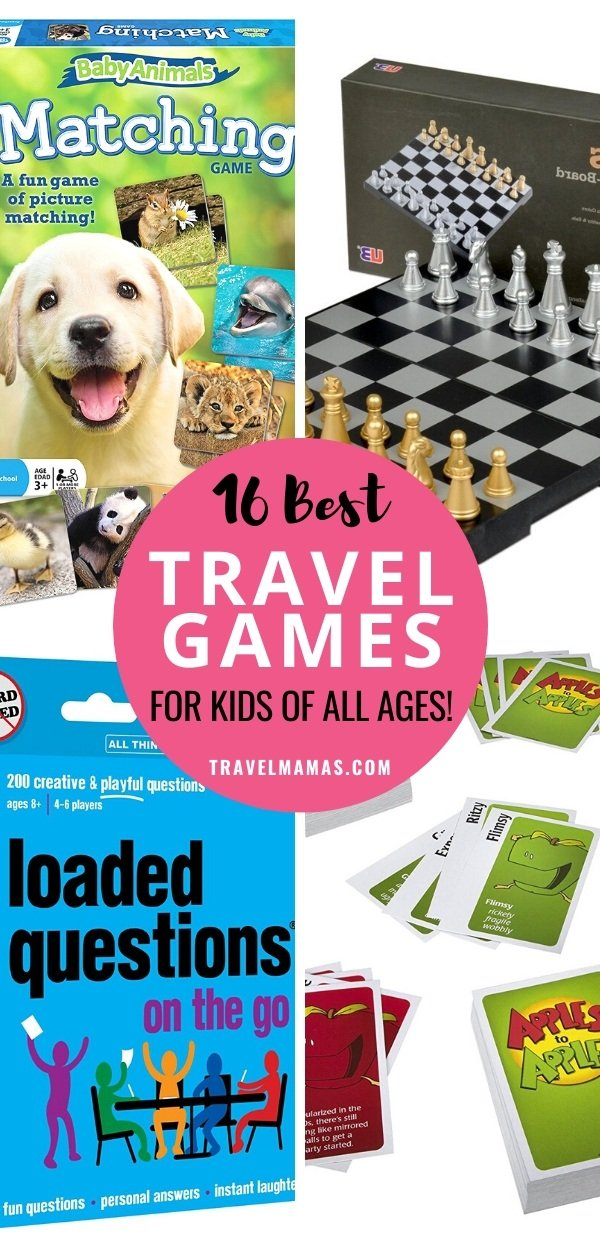 Best Travel Games for Kids from Toddlers to Teenagers