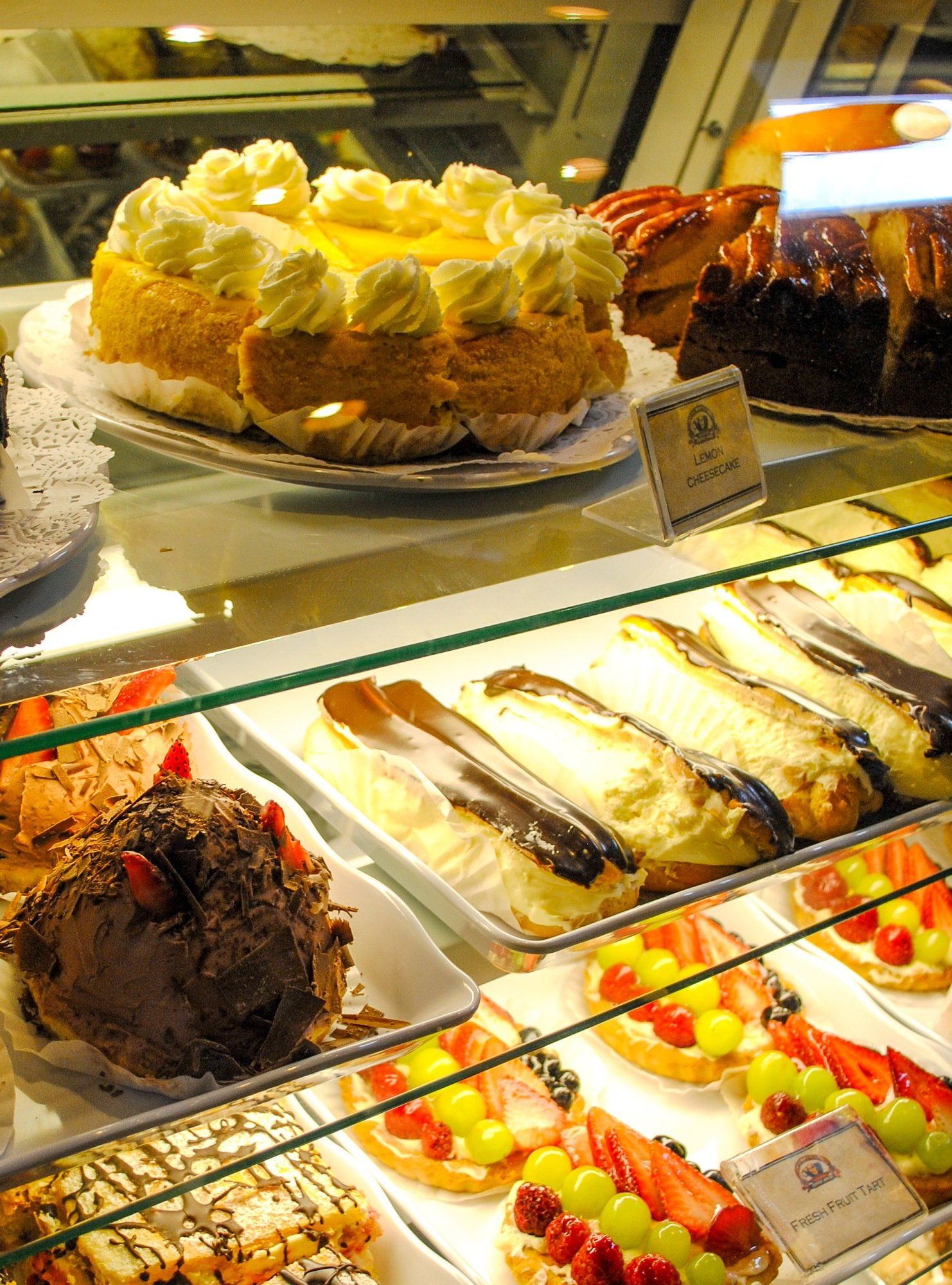 Sweets for sale from Café Carmel Coffee House