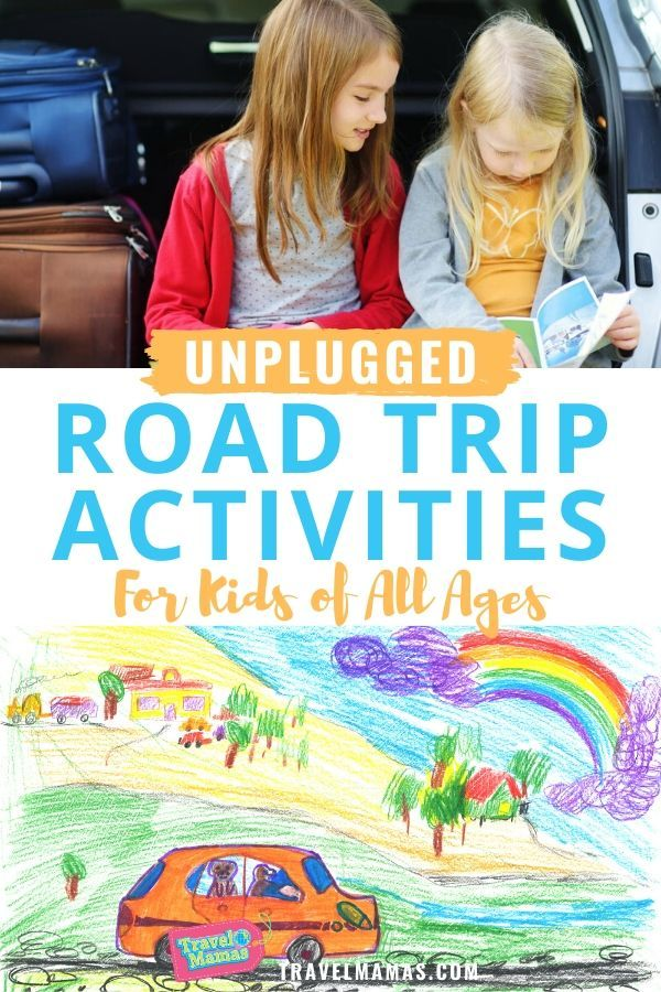 Unplugged Road Trip Activities for Kids of All Ages