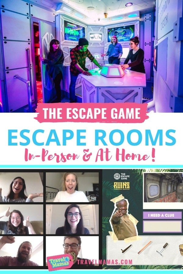 The Escape Game Escape Rooms At Home and In-Person