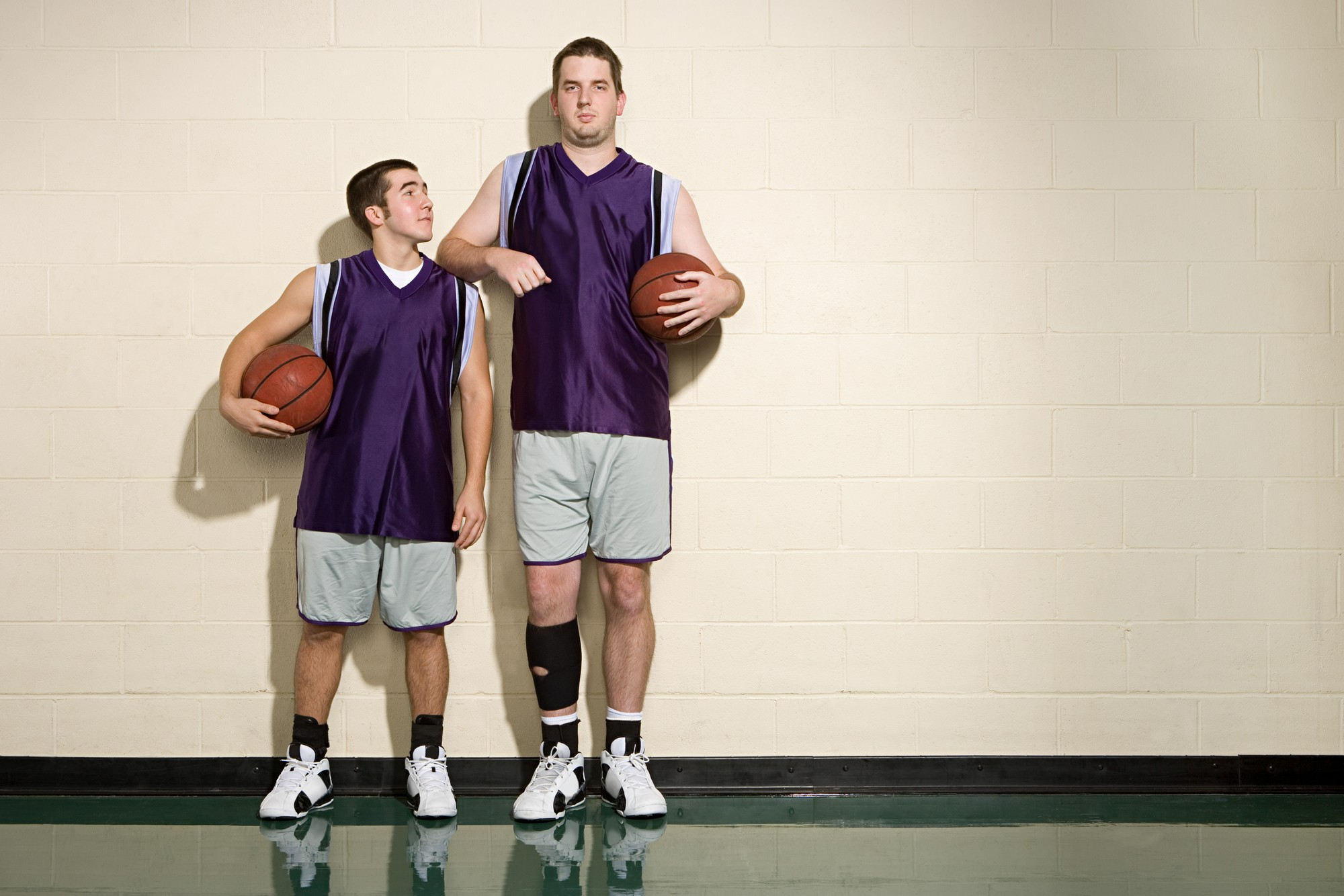 Not all tall people play basketball