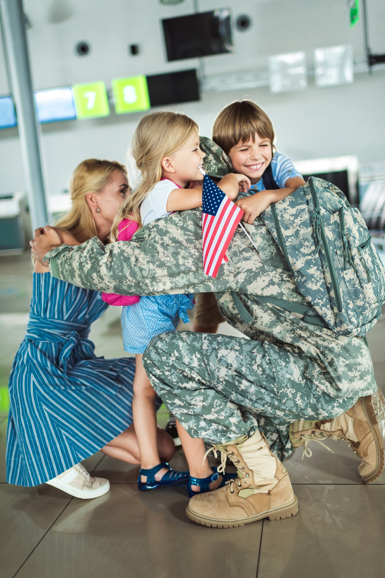 Military service is a sacrifice for the whole family
