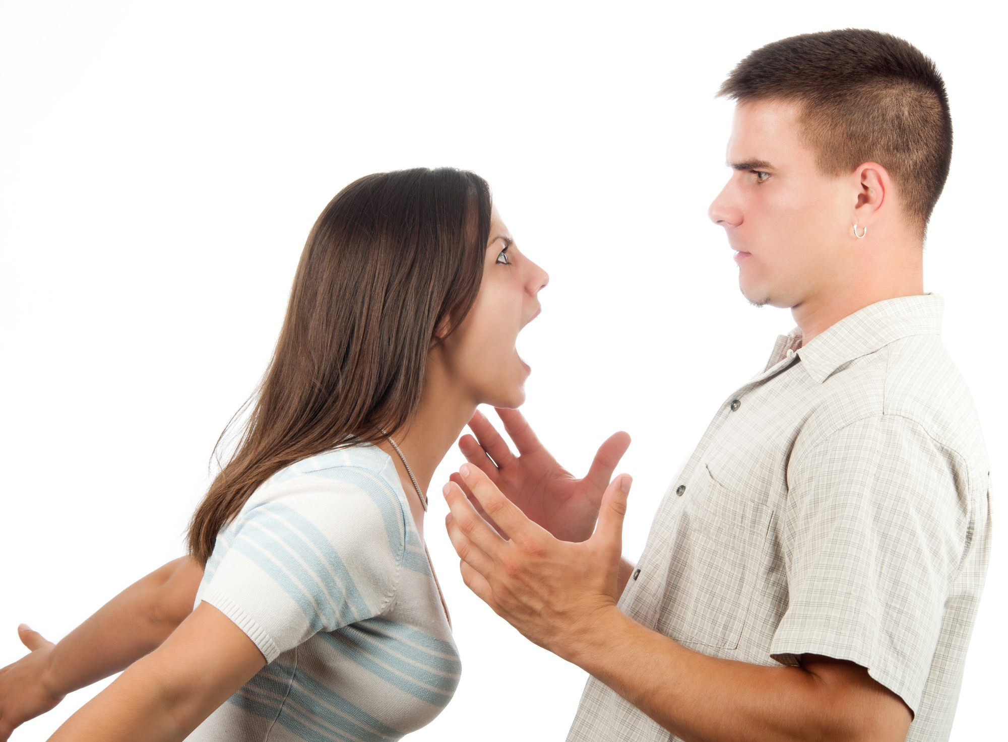 Telling someone to calm down usually has the opposite effect