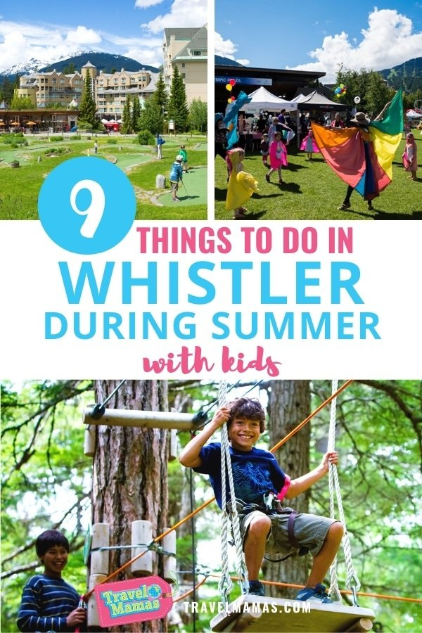 Things to Do in Whistler in Summer with Kids