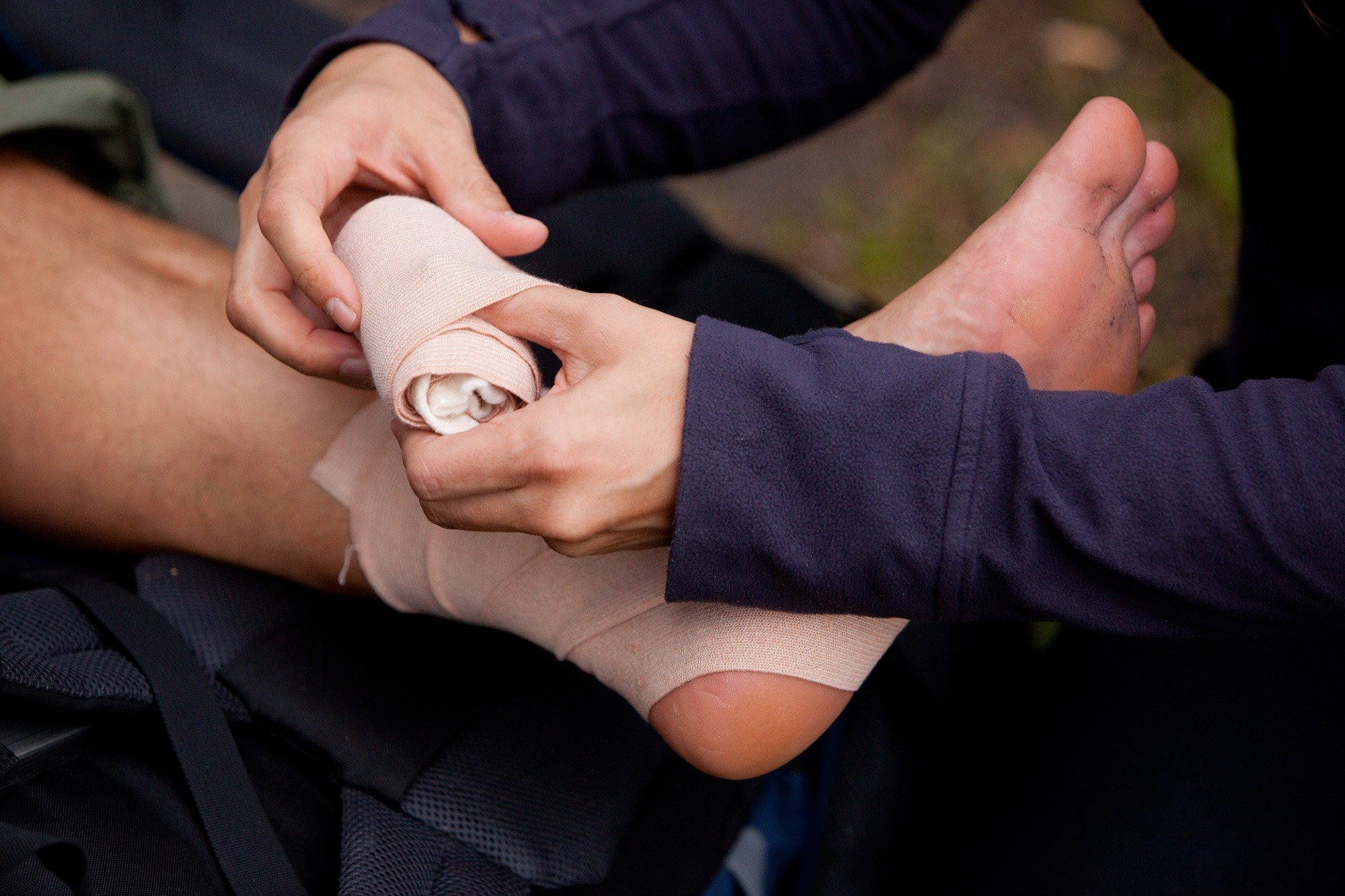 Don't forget to pack a first aid kit when camping