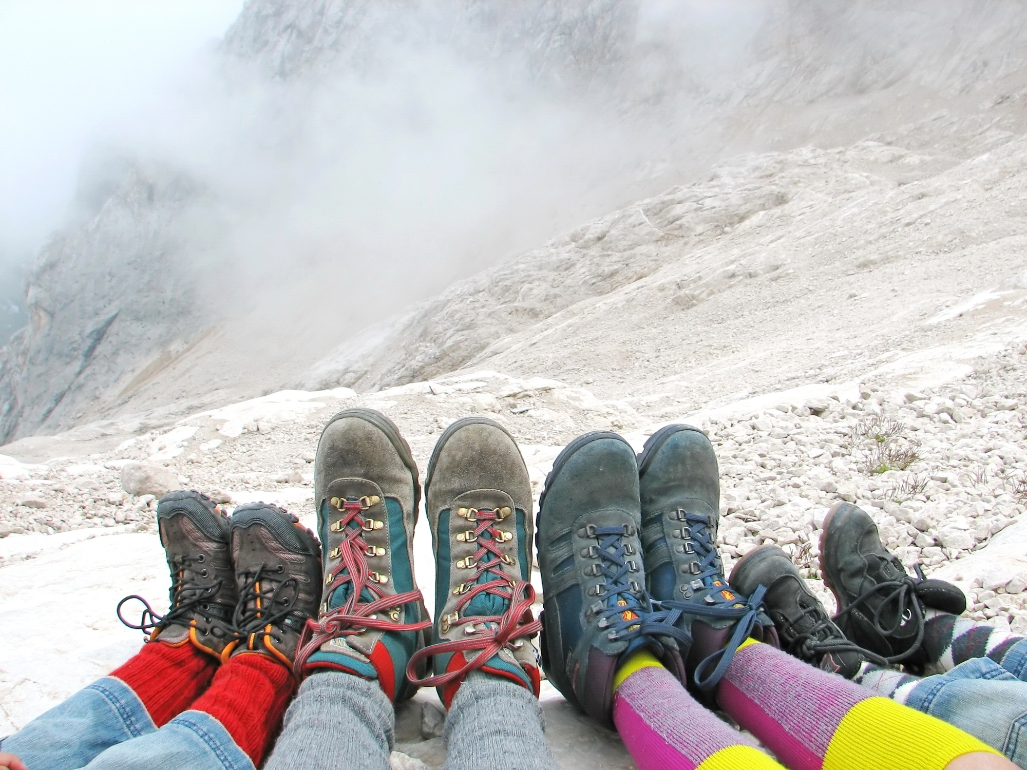 Good hiking boots are essential for camping