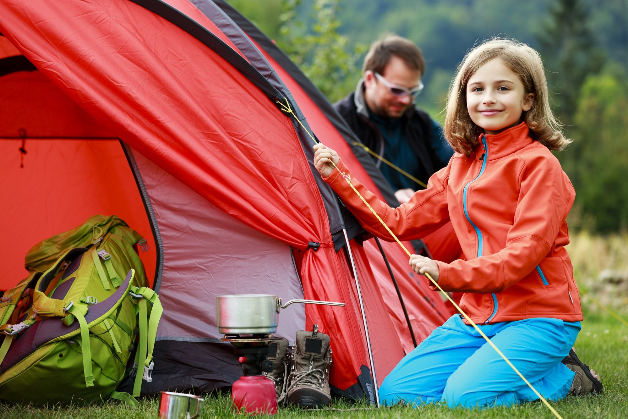Some camping gear you should buy, but there's lots you can borrow