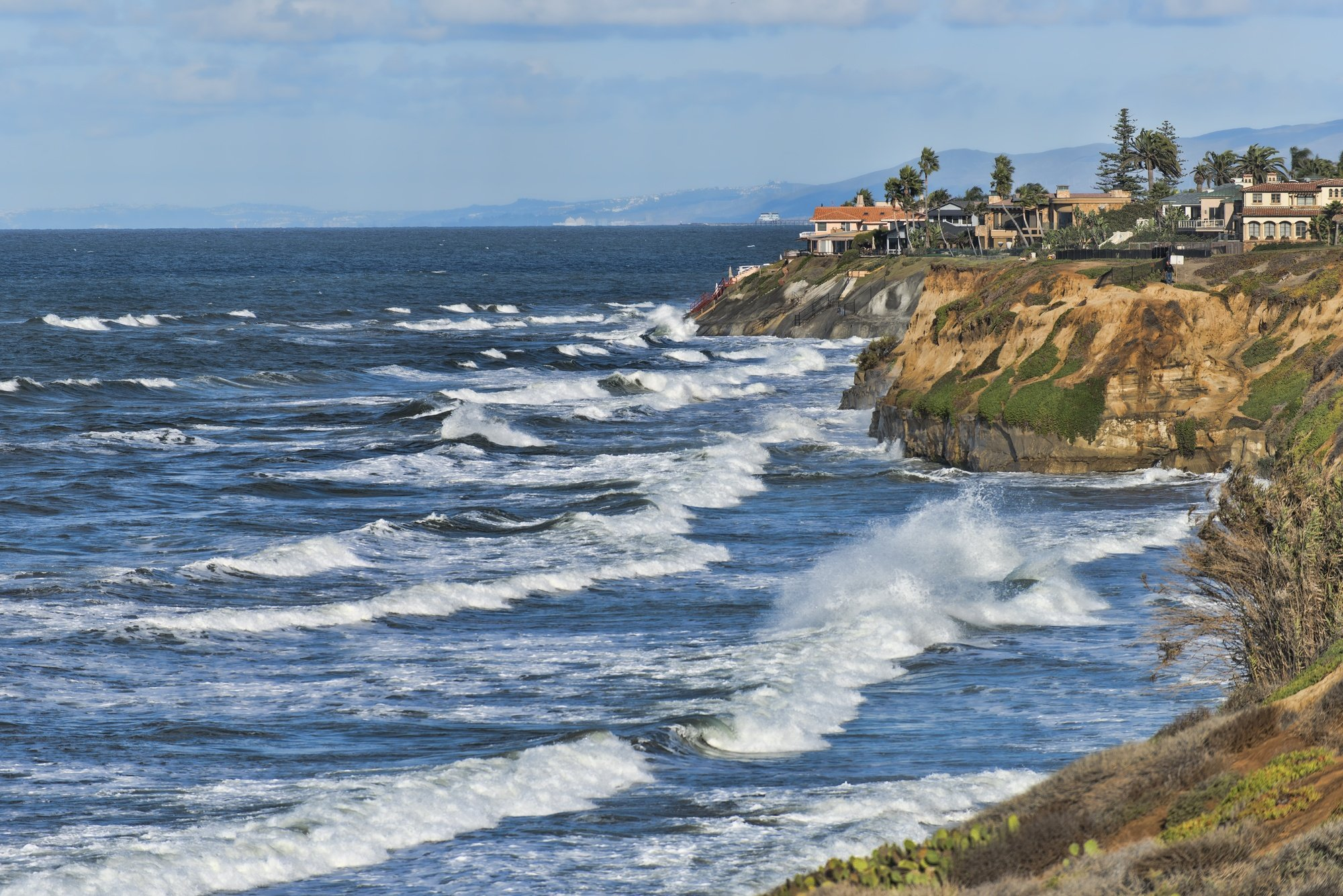 Carlsbad, California coastal view