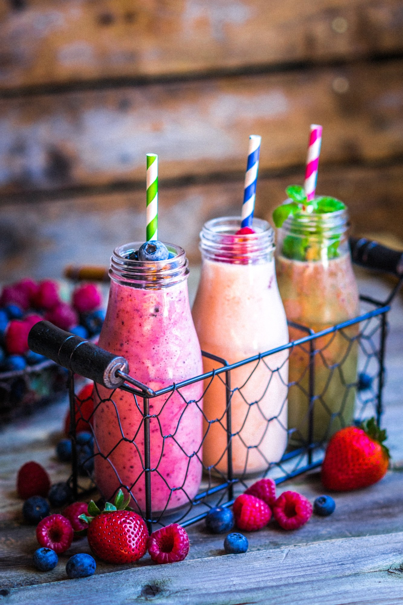 Start you vacation with a healthy smoothie