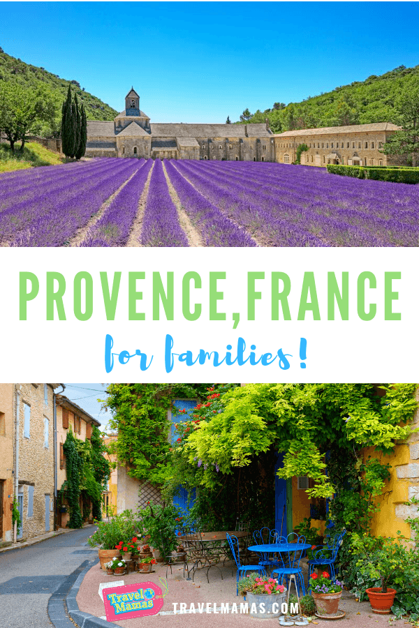 Provence, France with kids