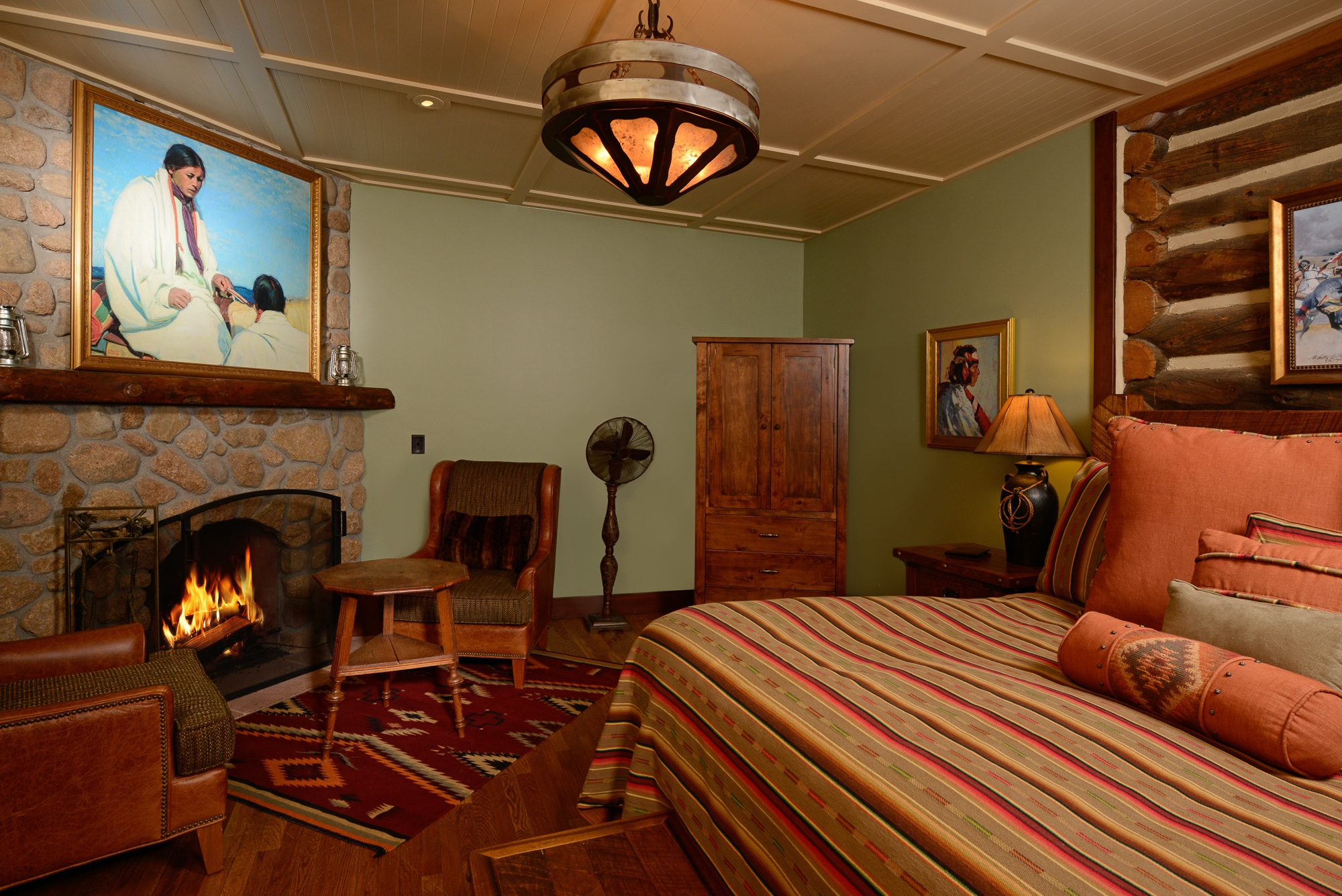Pinon Cabin Interior at Broadmoor Emerald Valley