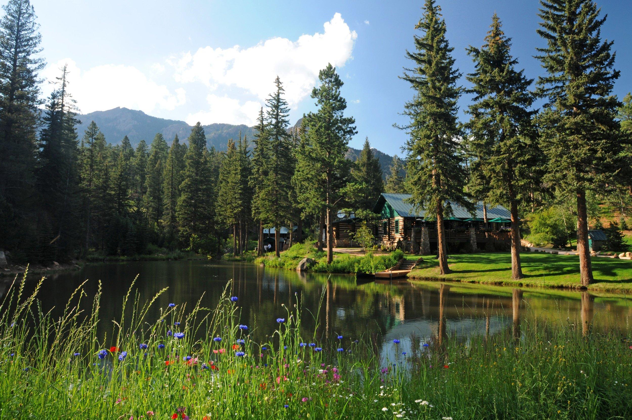 Glamping at Broadmoor Ranch at Emerald Valley