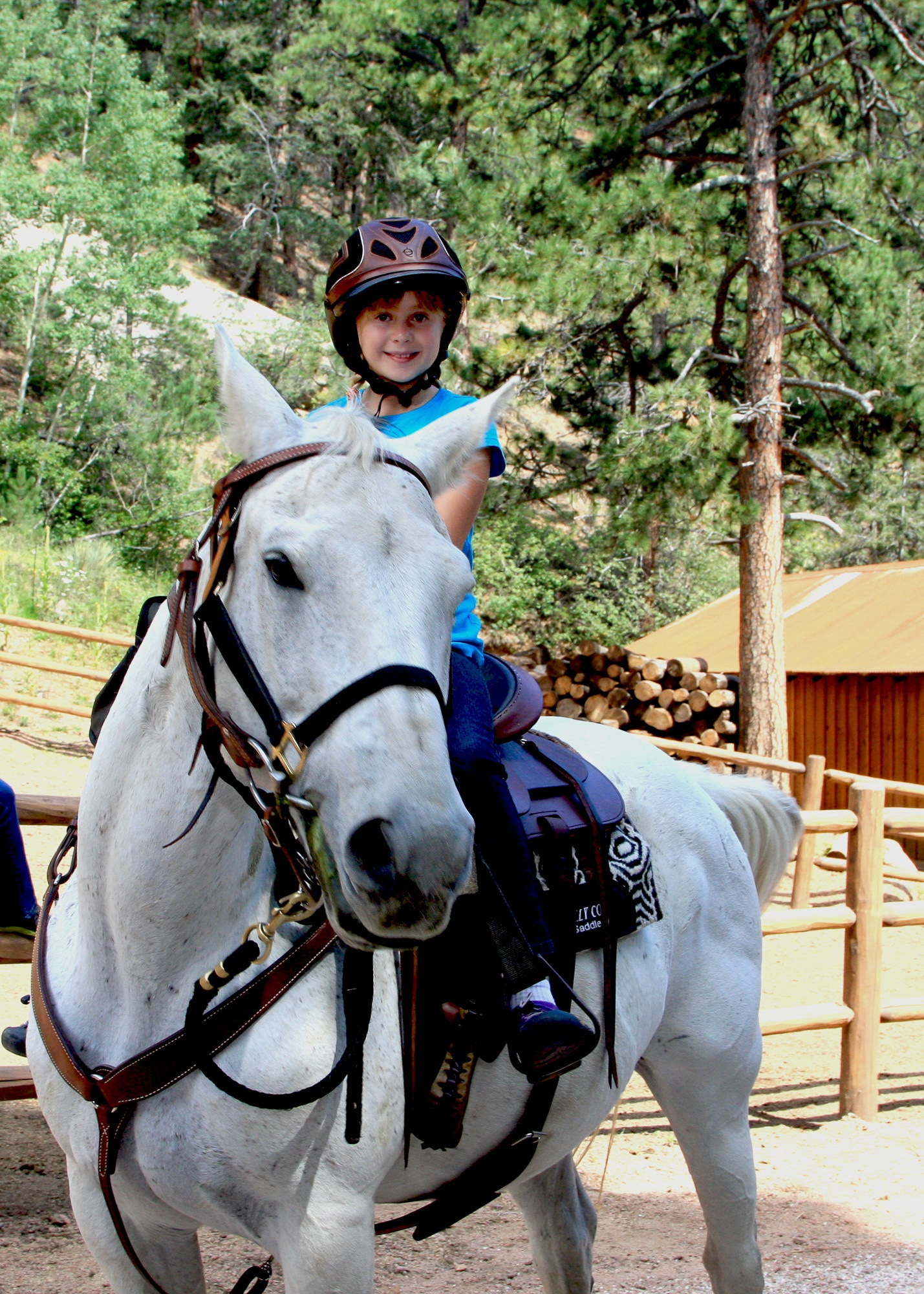Horseback riding is included at Broadmoor Emerald Valley