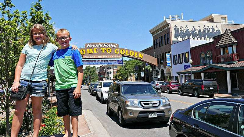 Golden, Colorado with kids