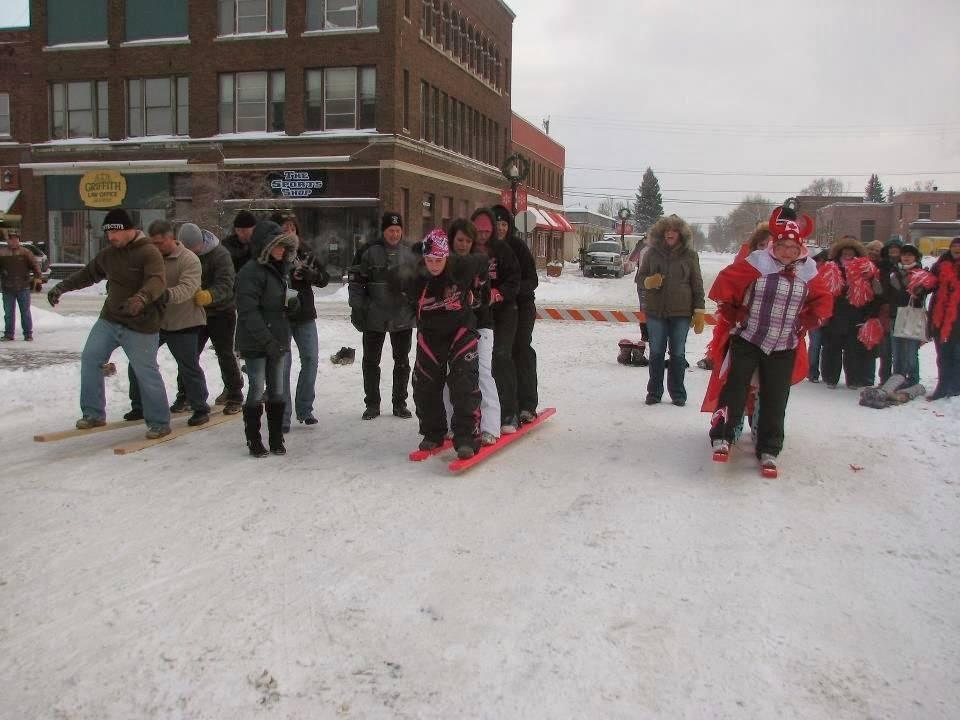 Ice Box Days in International Falls, Minnesota near the Canadian border