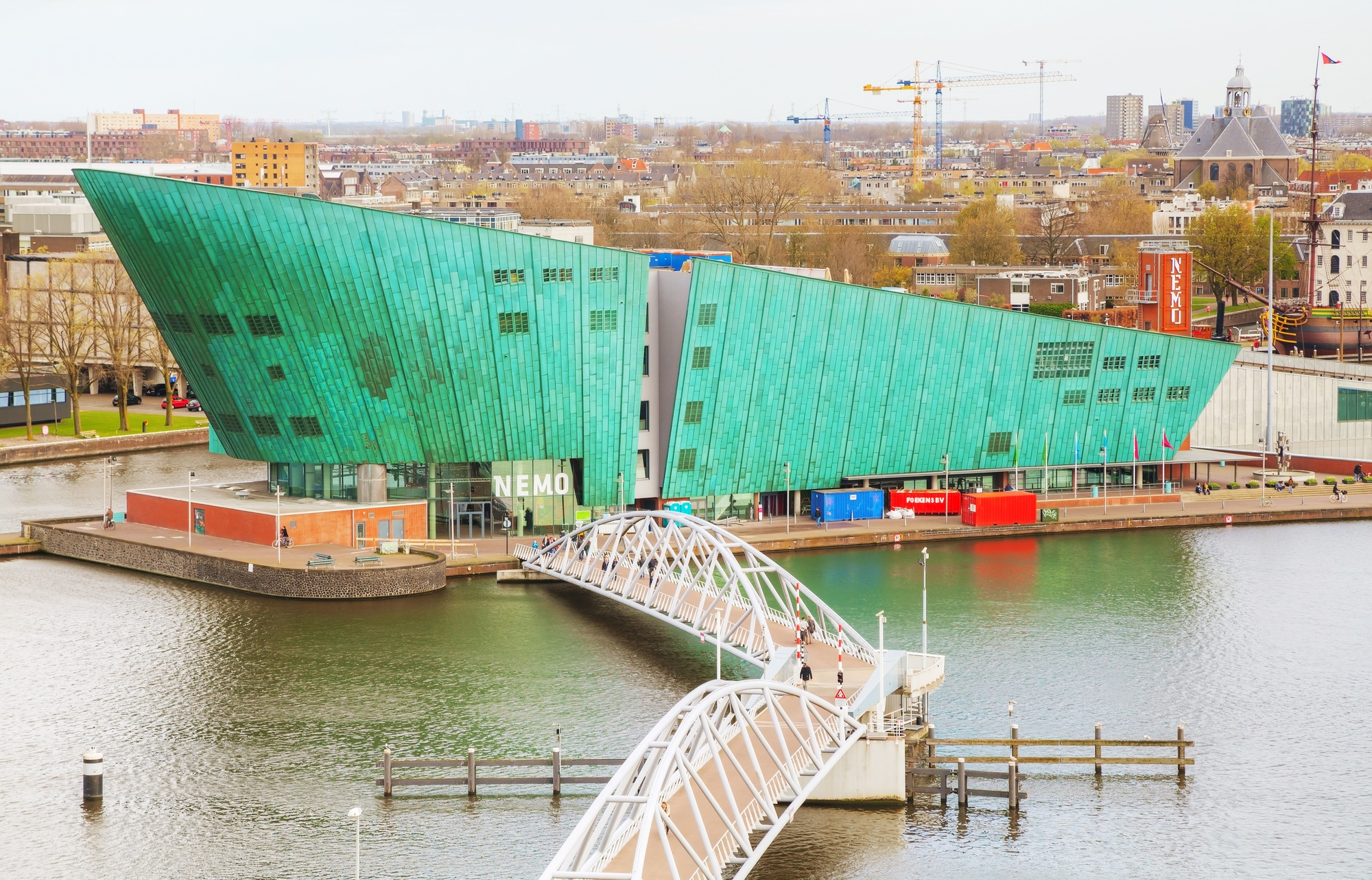 Science Center NEMO in Amsterdam, the Netherlands