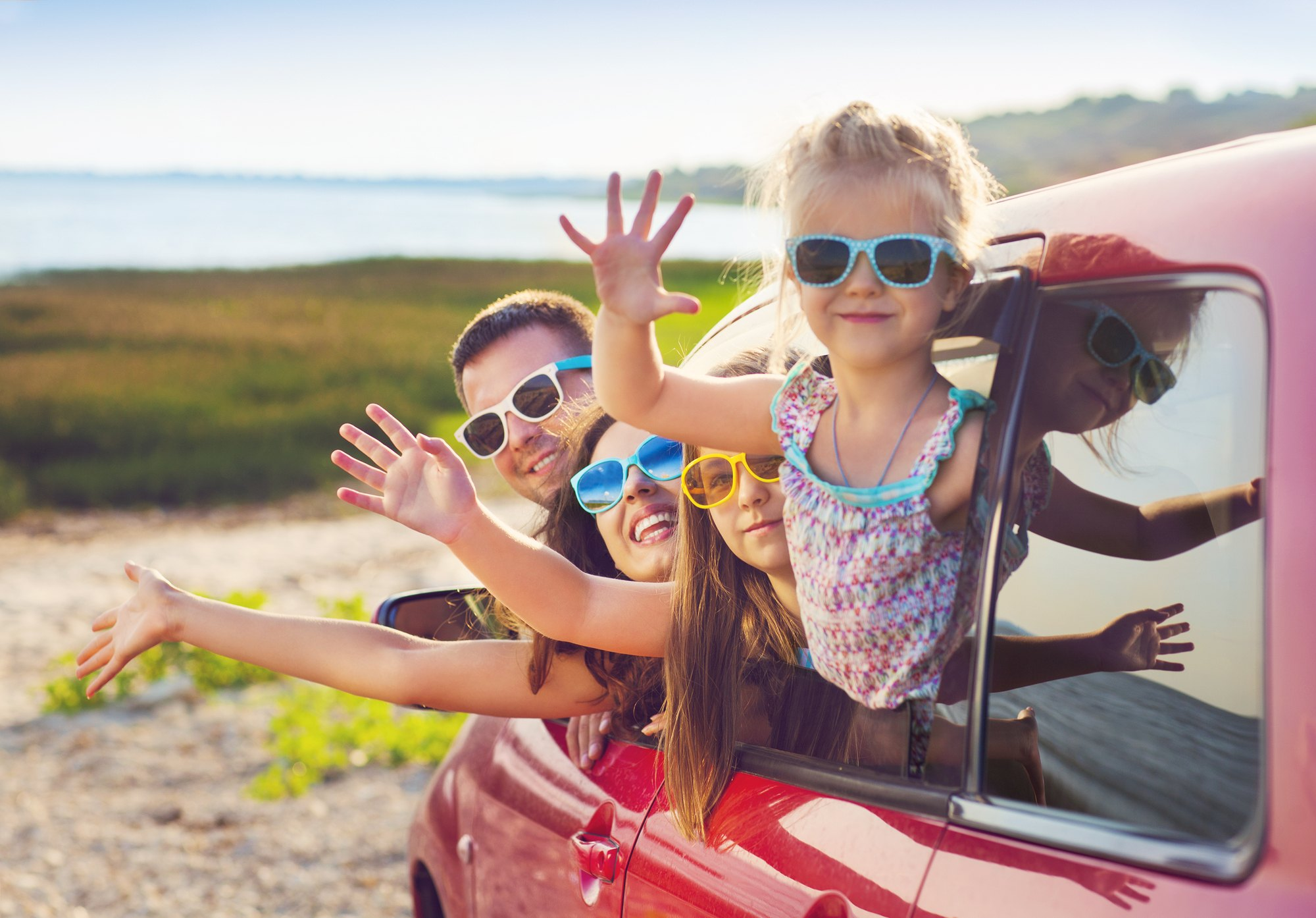 This list of audiobooks for family road trips will please kids of all ages