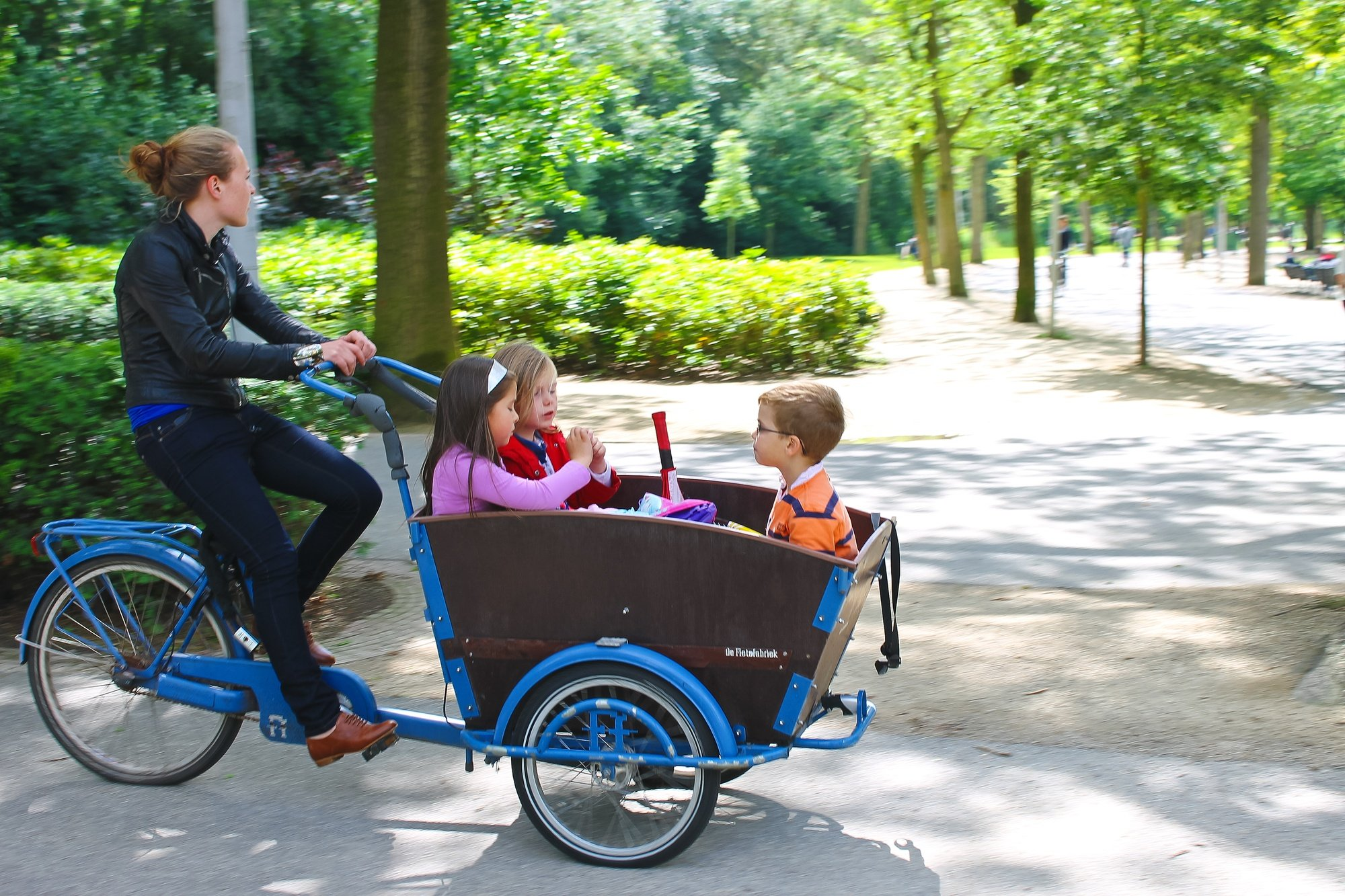 Cargo bicycle in the Netherlands