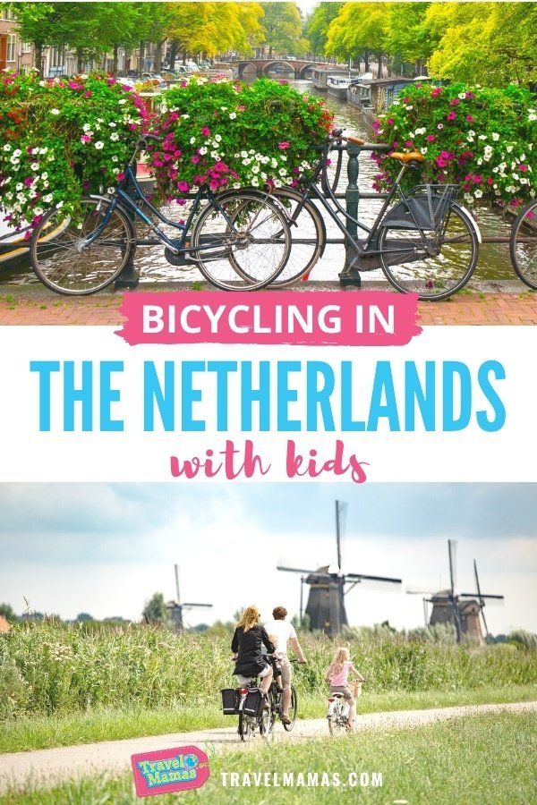 Bicycling in the Netherlands with Kids